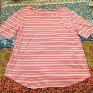 Loft large stripped top